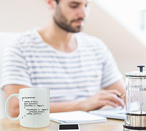 Kaffee++ Programmierer Keramik Kaffeetasse als Geschenk