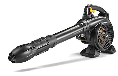 McCulloch GBV 322 VX Petrol Leaf Blower/Garden Vacuum: 800 W Engine, 45 Litre Vac Bag Capacity, 370 km/h, Full Anti-Vibration System, Cruise Control, Soft Start Function