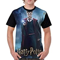 ハリーポ-ッター5 メンズ 人気 3dプリント Tシャツ 柔らかい 吸水速乾 半袖 シャツ おしゃれ 子供 運動 快適 肌着 ゆったり 夏服 下着 日常用 プレゼント