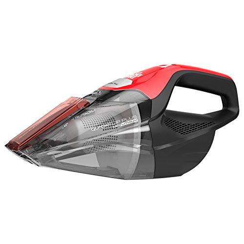 Dirt Devil Plus 16V, Red Quick Flip Pro Cordless 16 Volt Lithium Ion Bagless Handheld Vacuum Cleaner BD30025B
