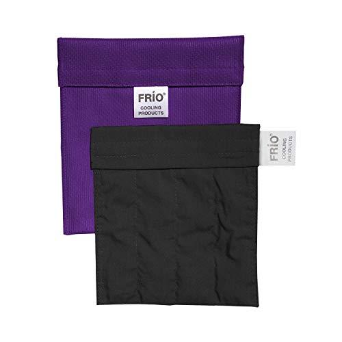 FRIO Kühltasche für Insulin, 14 x 15cm, lila-KEIN Eispack oder Batterien nötig, für eine Kombinationen von Ampullen oder Patronen, KEIN Pen