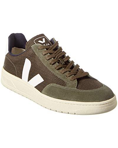Veja V-12 Wildleder-Trim Sneaker, Gr�n (grün), 39 EU