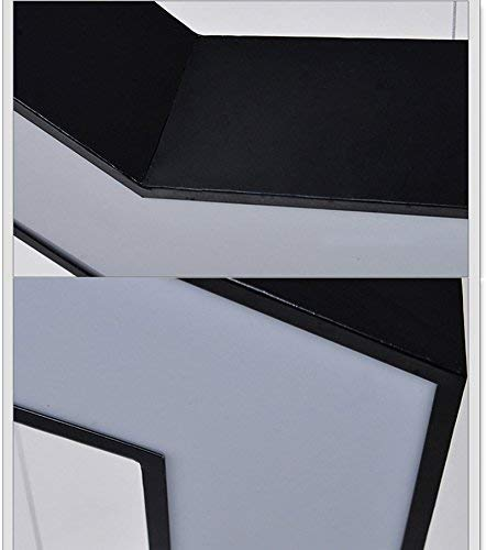OYE Led Chandelier Lighting of Office, Lighting House Restaurant Simple Hexagon Light Coffee Couture InternetÉ Hex Chandelier Light Geometric White Creative Genius 40-80 cm Lamps,D60cm,: Amazon.es: Bricolaje y herramientas