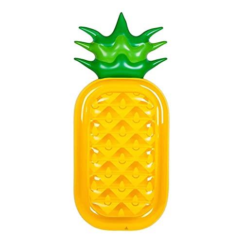 Flotador De La Piscina De La Tumbona De La Nadada Inflable, La Colilla De Aire De La Tumbona De La Piña, La Cama De La Piscina De La Piscina para Adultos Y Niños Inflable Juguete (Color : Yellow)