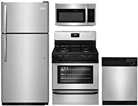 Frigidaire 4-Pcs Stainless Steel Builder Package with FFTR1821TS 28