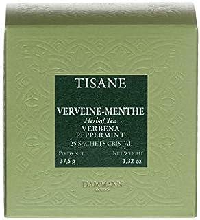 Pasticceria Passerini dal 1919 Dammann Verveine Menthe - Tisane verveine Menthe, 25 sachets Cristal - Dammann Frères