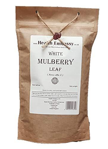 Weiße Maulbeere Blatt Tee (Morus Alba) / White Mulberry Leaf - Health Embassy - 100% Natural (100g)