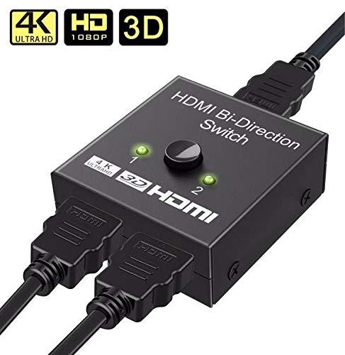 Goldoars HDMI Switch Switcher HDMI Bidireccional 2