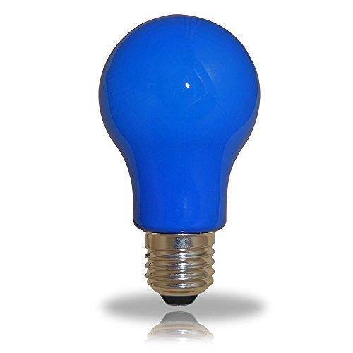 LED Leuchtmittel Birnenform 3W = 25W E27 BLAU Innen- & Außenbereich Party