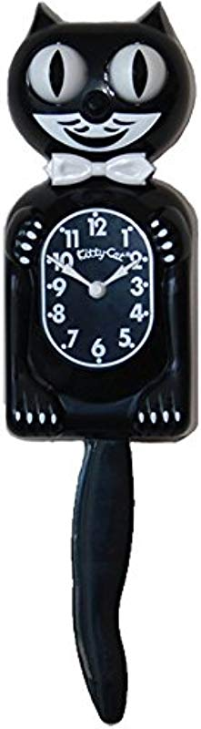 Kitty Cat Klock Classic Black