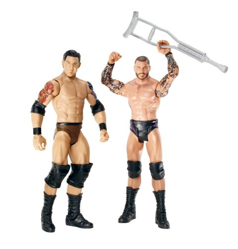 WWE Series 18 Battle Pack: Randy Orton vs Wade Barrett, Lot de 2