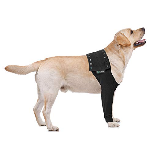 Suitical Recovery Sleeve Hund, L, Schwarz