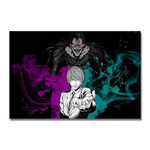 XIAOXIANNV (11.8x15.8inch) Ricamo 5D Diamante Anime Death Note Pittura Wall Art Punto Croce Immagine Completa Trapano Rotondo Fatto a Mano Decorazione Domestica Regali