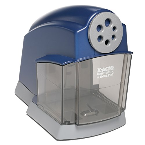 XACTO School Pro Classroom Electric Pencil Sharpener Blue 1 Count