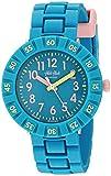 Flik Flak Kids' Quartz Plastic Strap, Blue, 16 Casual Watch (Model: ZFCSP088)