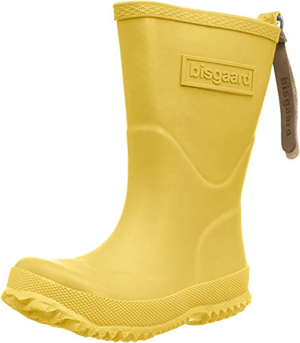 Bisgaard Unisex-Kinder Rubber Boot Basic Gummistiefel, Gelb (80 yellow), 30 EU