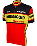 World Jerseys Formaggio 1977 Retro Cycling Jersey (X-Large)