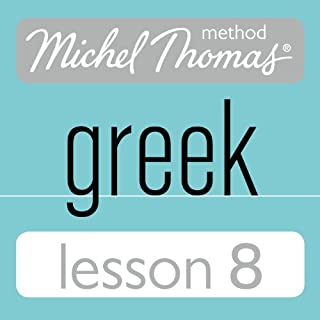 Michel Thomas Beginner Greek Lesson 8 cover art