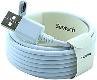 TP-Link Neffos C9A (TP706A) uyumlu Sentech 3 metre Micro Usb Şarj ve Data Kablosu