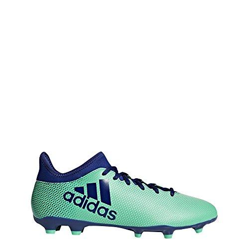 Adidas X 17.3 FG, Botas de fútbol para Hombre, Azul (Azul/(Aerver/Tinuni/Vealre) 000), 42 2/3 EU