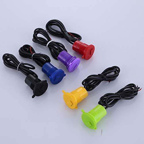 BEESCLOVER 12 V Moto Chargeur de Voiture USB Universel de l'adaptateur Chargeur de téléphone