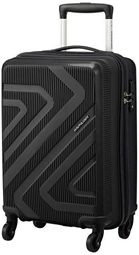[カメレオン] スーツケース キャリーケース キザ スピナー 55/20 TSA 機内持ち込み可 保証付 35L 2.3kg ブラック