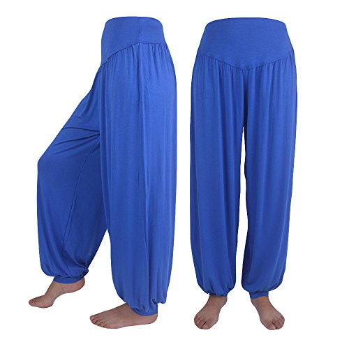 Lantern Wide Leg Pants Solid Color Large Size Leisure Loose Fashion Sports Yoga Pants Daily Wild Jogging Riding