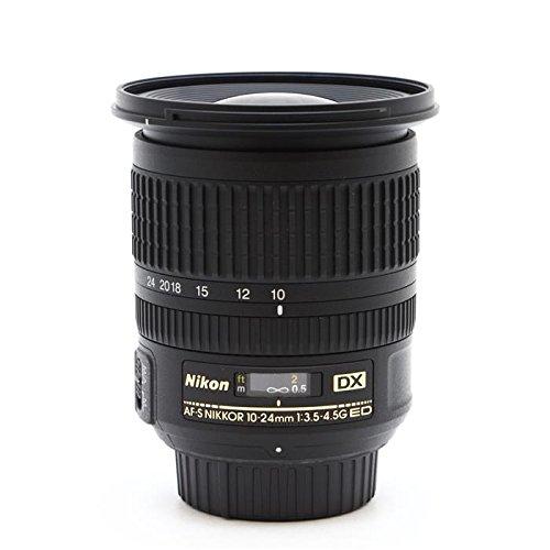 Nikon 10-24mm f/3.5-4.5G ED-IF AF-S DX NIKKOR DSLR Lens Bundle w/77mm UV Wide Angle...