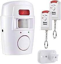 CNmuca PIR Sensor de movimento Alarme Wireless Home Garage Caravan 2 Controles remotos Segurança Detectores de movimento P...