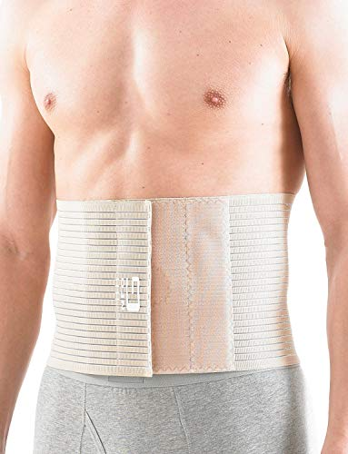 Neo G Órtesis para hernia abdominal superior - Talla XL - Calidad de Grado Médico. Órtesis transpirable y ligera. Ayuda con hernias abdominales, la tensión y presión en la zona lumbar - Unisex