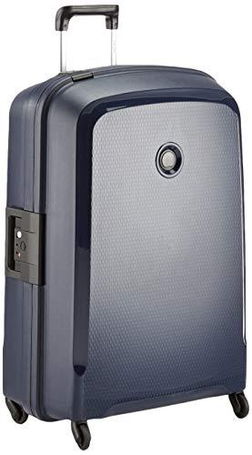 Delsey Paris Belfort 3 Koffer, 76 cm, 118 Liter, Blau