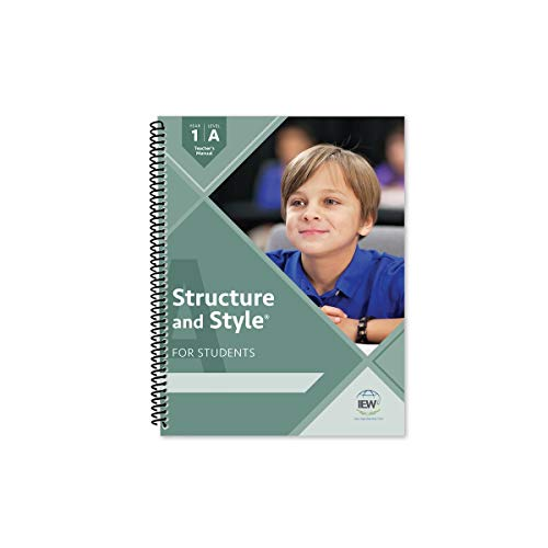 Compare Textbook Prices for Structure and Style for Students: Year 1 Level A [Teacher's Manual only]  ISBN 9781623415129 by Andrew Pudewa