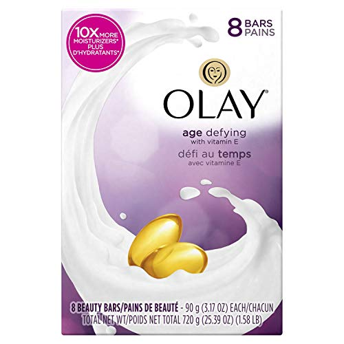 Olay Age Defying Beauty Bars 1 Pack of 8 Bars