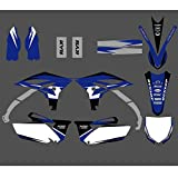 Etiqueta de protección Antecedentes Adhesiva gráfico Pegatina for Yamaha YZ250F YZF250 YZ 250F YZF 250 2010 2011 2012 2013 Fork Fender Calcomanías