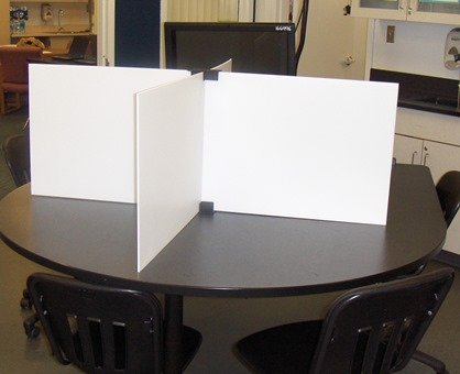 """Test Dividers RSB-W Set (Regular Size Boards - White) 24 Boards and 24 Stands 24"""" x 18"""""""