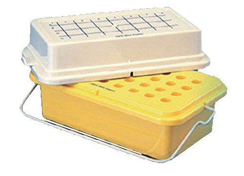 DUTSCHER 913078 Portoir mini-cooler, coloris jaune, température de conservation -20 °C pendant 60 minutes