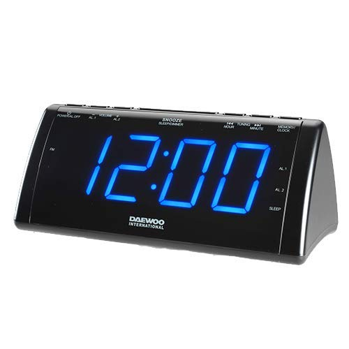 Daewoo 222932 USB LCD Projector Alarm Clock Radio for sale  Delivered anywhere in UK