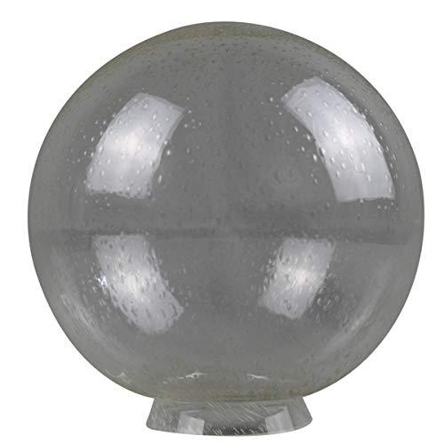 Kugel Blasenglas Ersatzglas Ø200 mm mit Kragenrand Ø80mm