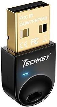 Techkey USB Bluetooth 4.0 Adapter Dongle