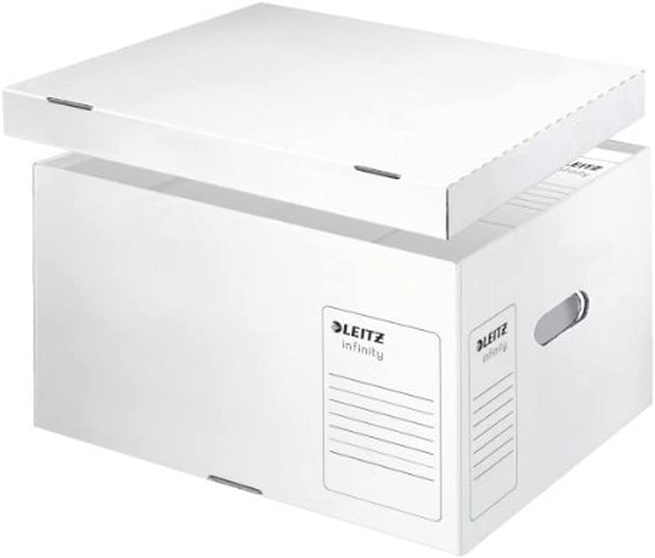 Leitz Regular discount Large Infinity Archiving Box White Many popular brands and Transportation
