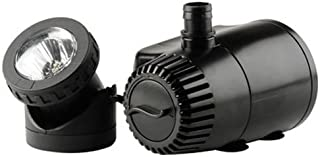 pond boss 420 GPH Low Water Shut Off Fountain Pump with LED Light
