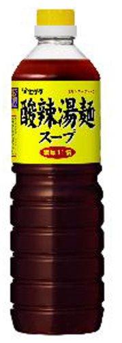 味名人酸辣湯麺スープ 1L