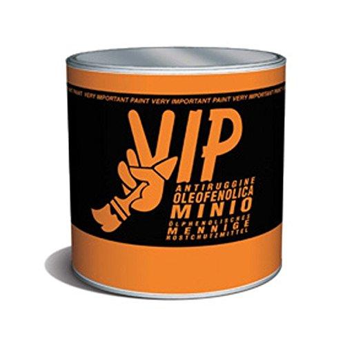 JCOLORS Vip Antiruggine Oleofenolica Al Minio Ml 500 Per Uso Professionale