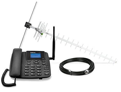 Celular Rural GSM CFA-4212 Dual com Kit, Intelbras - Telefonia Fixa, 48485-8-14