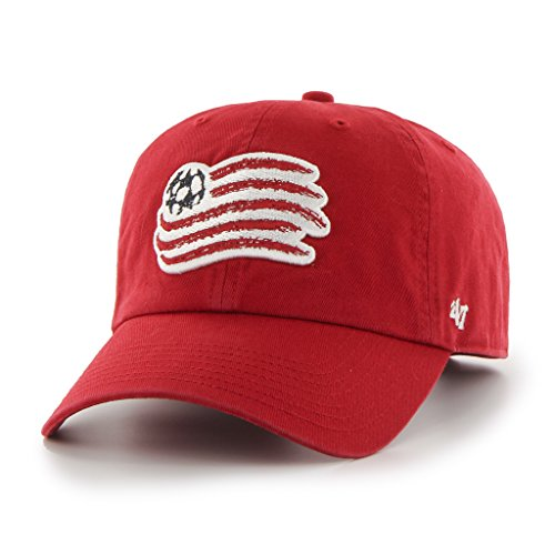 47 Brand MLS New England Revolution Clean Up Cap - Red