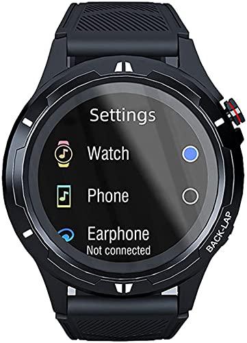 wyingj Bluetooth llamada reloj inteligente reproductor de música reloj inteligente reloj de pulsera de ejercicio de los hombres