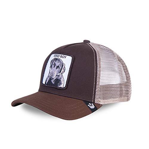 Gorra Goorin marrón Good Boy Perro Baseball Trucker Labrador – Unisex