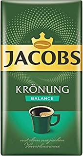 Jacobs Kronung Balance Ground Coffee 500 Gram / 17.6 Ounce (Pack of 1)