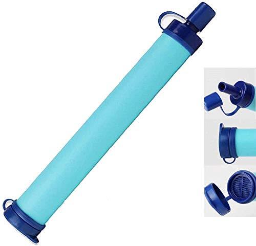 Lizipai Waterfilter - Survival Kit Aardbeien-survivaluitrusting. nooduitrusting, outdoor-uitrusting, tactische waterfilter voor kamperen, wandelen, jagen, vissen, survival in de open lucht, 1,94 ounce.