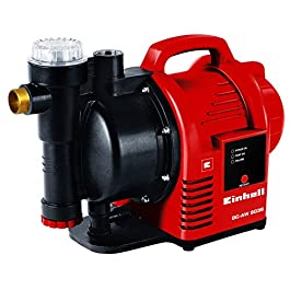 Einhell Machine à eau domestique GC-AW 9036 (900 W, pression 4,3 bar, débit 3600 l/h, préfiltre, clapet anti-retour…